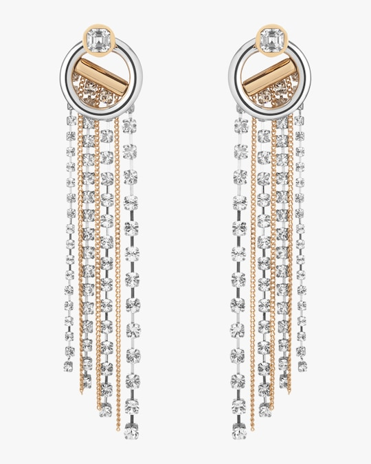 Demarson Skye Crystal Drop Earrings 0