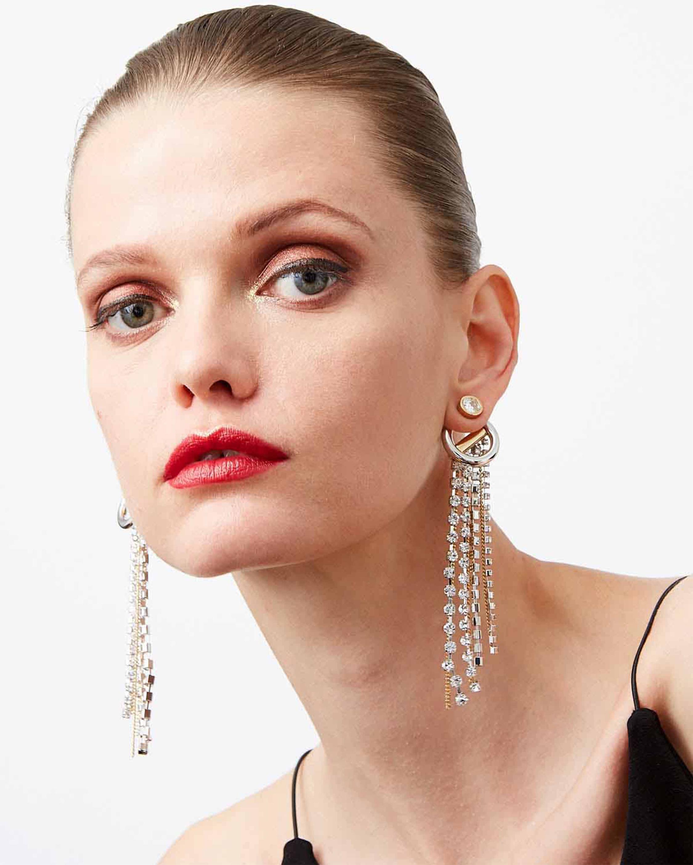 Demarson Skye Crystal Drop Earrings 2