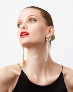 Demarson Skye Crystal Drop Earrings 2