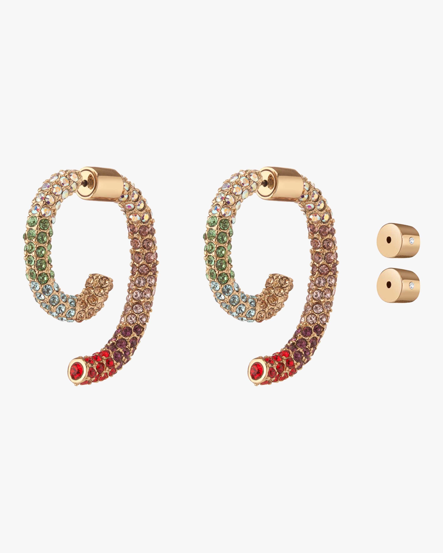 Demarson Luna Pavé Earrings 1