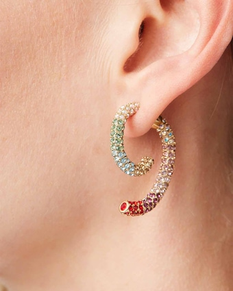 Luna Pavé Earrings