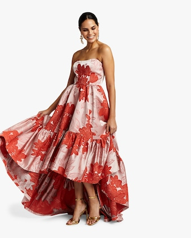 Georgiana High Low Gown