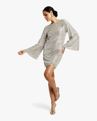Anita Cowl Back Mini Dress