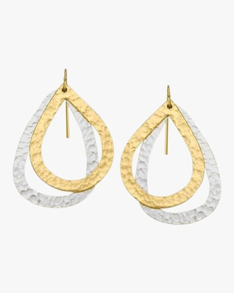 Paris Double Drop Earrings