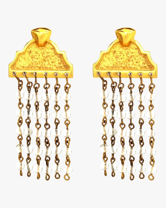 Stephanie Kantis Pediment Earrings 0