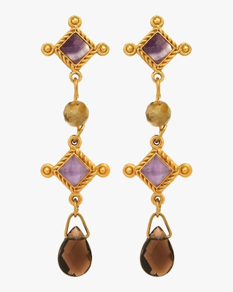Stephanie Kantis Venice Trio Earrings 2