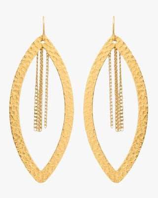 Stephanie Kantis Paris Eye Chain Earrings 2