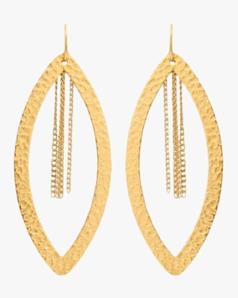 Stephanie Kantis Paris Eye Chain Earrings 2