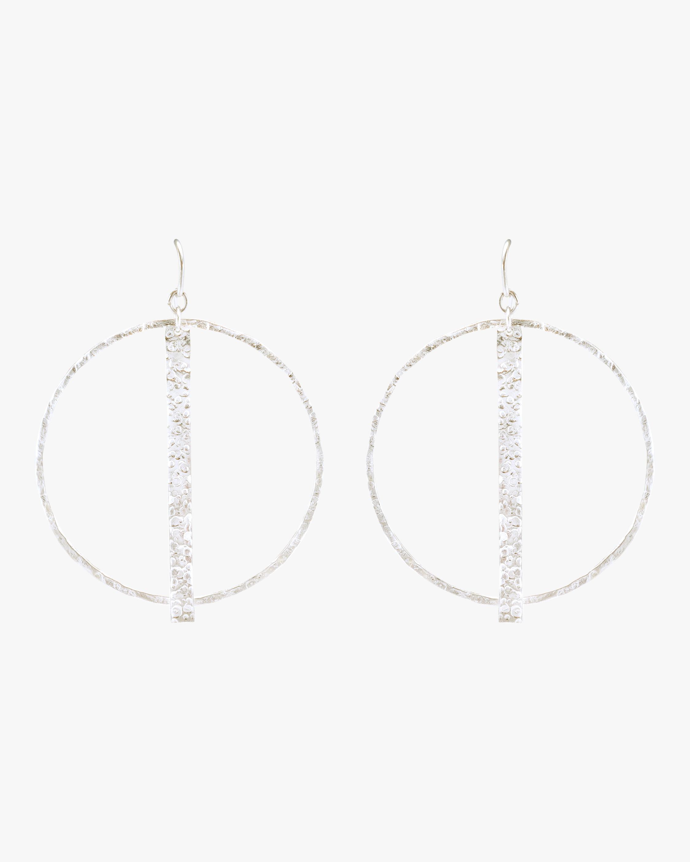 Stephanie Kantis Column Round Earrings 2
