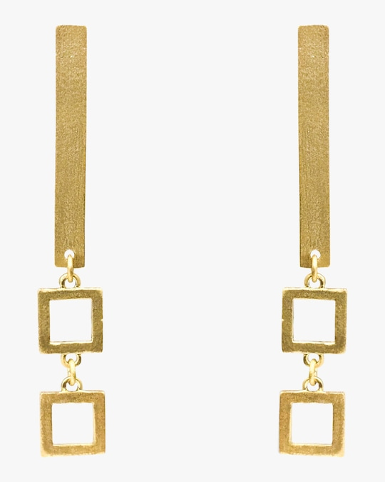 Stephanie Kantis Frame Earrings 0