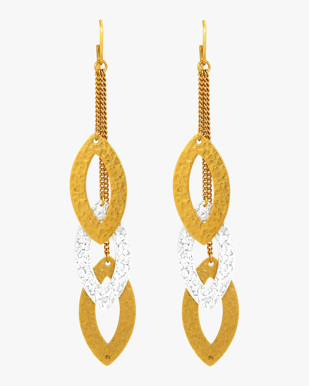 Stephanie Kantis Paris Triple Eye Earrings 2