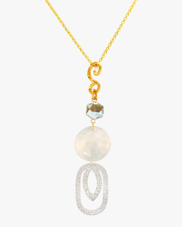 Stephanie Kantis Paris Double Oval Eye Necklace 2