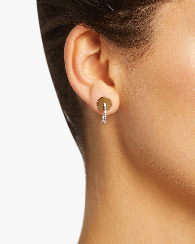 Phillips House Diamond Mini Hoop Earrings 1
