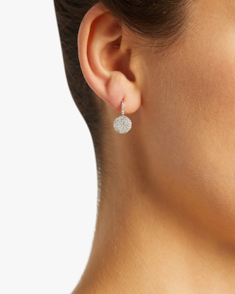 Petite Infinity Leverback Earrings