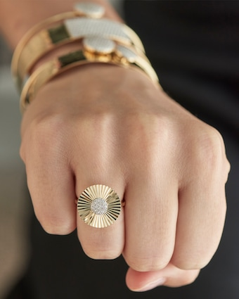 Phillips House Pavé Diamond Ring 2