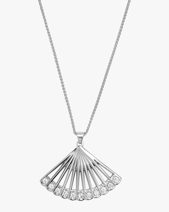 Selin Kent Zoe Fan Necklace 0