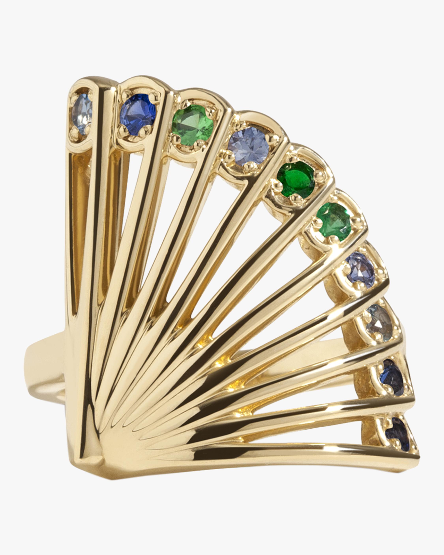 Selin Kent Zoe Fan Peacock Ring 2