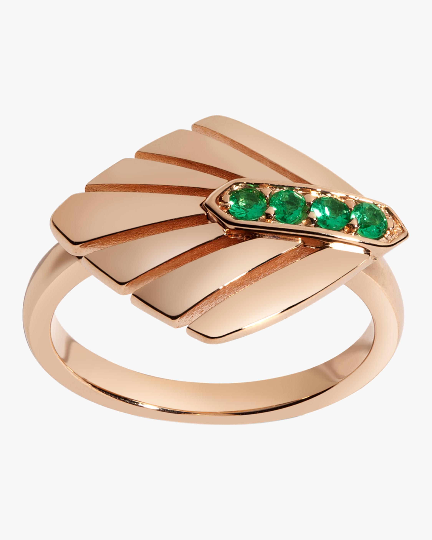 Josephine Emerald Ring