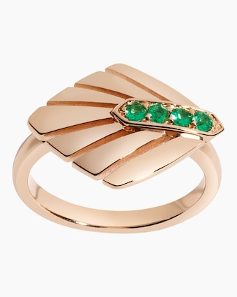 Selin Kent Josephine Emerald Ring 1