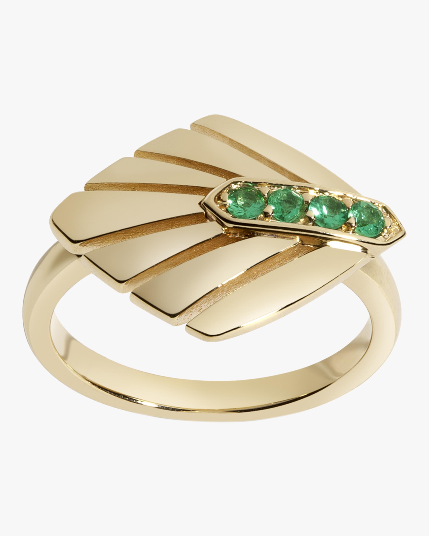 Selin Kent Josephine Emerald Ring 0
