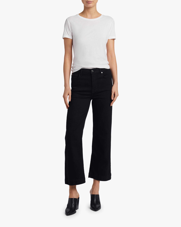 Alexa Cropped Wide-Leg Jeans