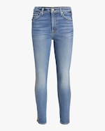 7 For All Mankind Luxe Vintage High Waist Ankle Skinny Jean 0