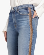 7 For All Mankind Luxe Vintage High Waist Ankle Skinny Jean 3