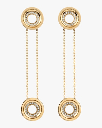 Drew Pavé Drop Earrings Set