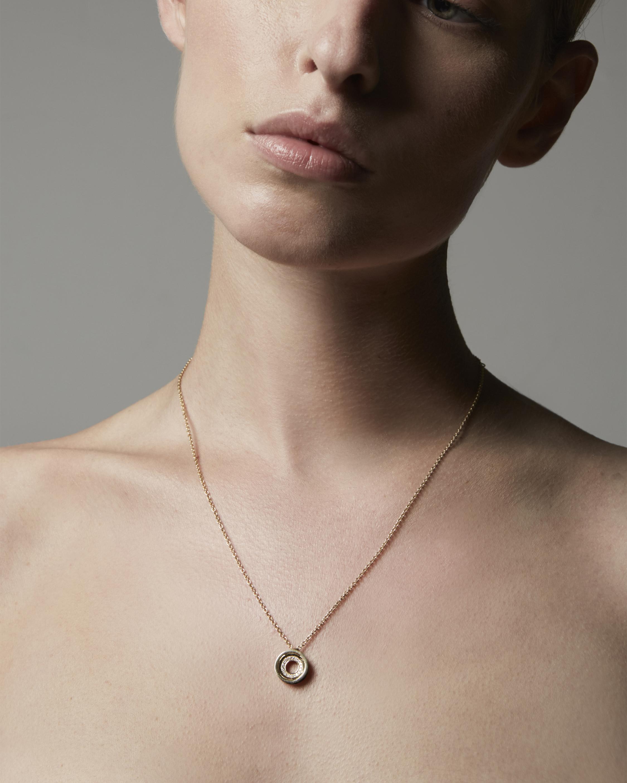 Drew Pavé Pendant Necklace