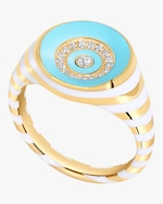 State Property The Voyager Rinzo Brilliant Signet Ring 0