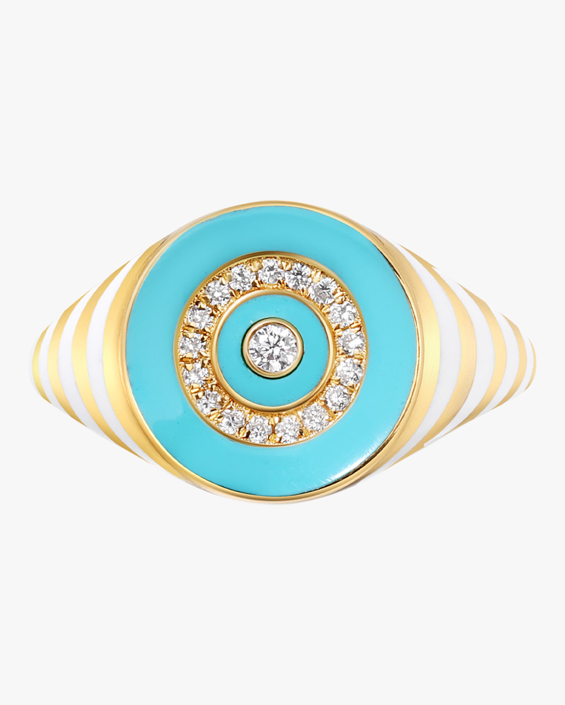 The Voyager Rinzo Brilliant Signet Ring