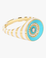 State Property The Voyager Rinzo Brilliant Signet Ring 3