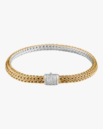 Classic Chain Diamond Reversible Bracelet