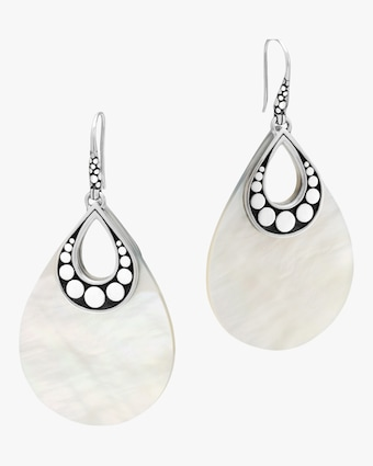 The Dot Mother-Of-Pearl Drop Earrings