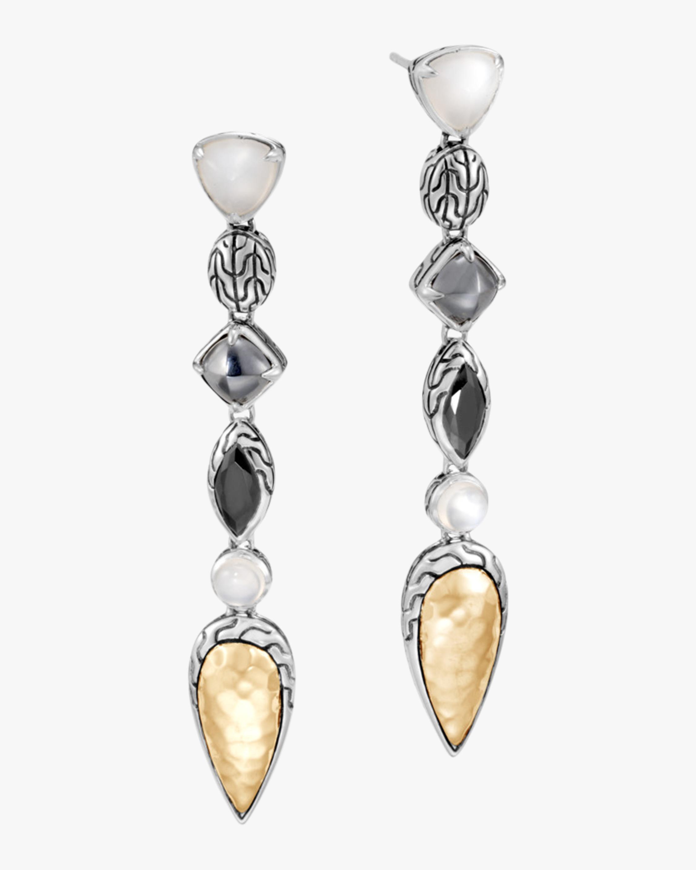 John Hardy Classic Chain Linear Earrings 1