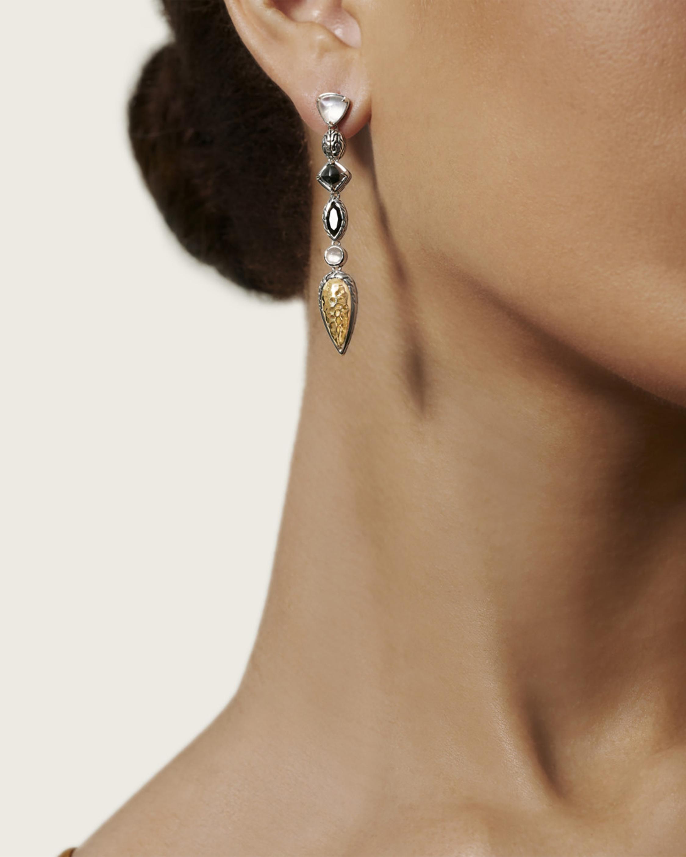 John Hardy Classic Chain Linear Earrings 2