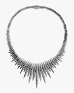 John Hardy Classic Chain Spear Hammered Bib Necklace 2