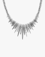 John Hardy Classic Chain Spear Hammered Bib Necklace 4