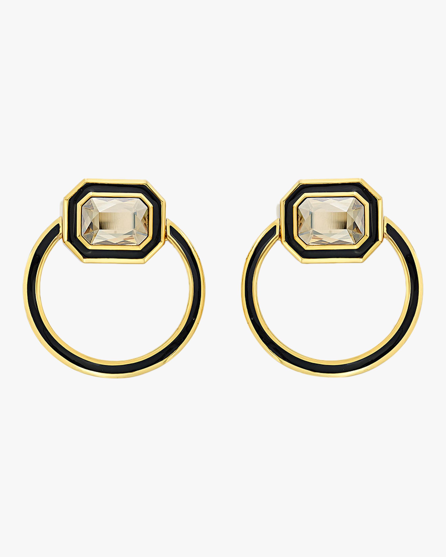 Isharya Glitter on the Go Shadow Loop Earrings 0