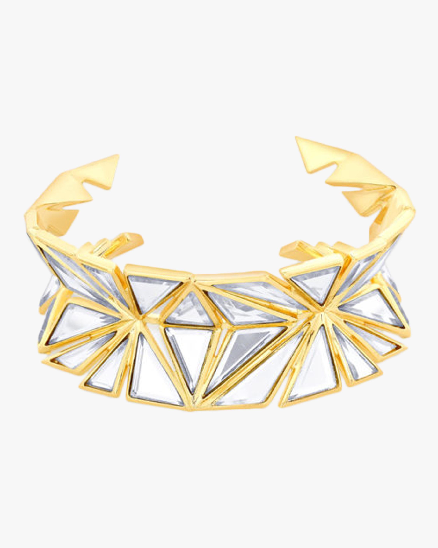Demi Goddess Knife Edge Mirror Cuff Bracelet
