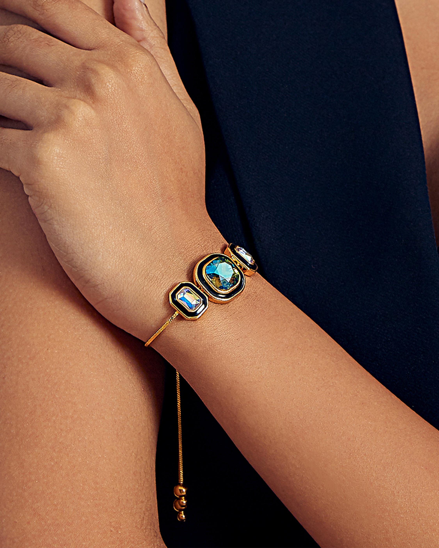 Glitter on the Go Stackable Bolo Bracelet
