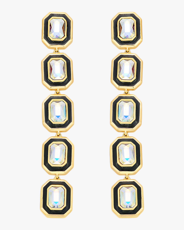 Glitter on the Go Long Chandelier Earrings