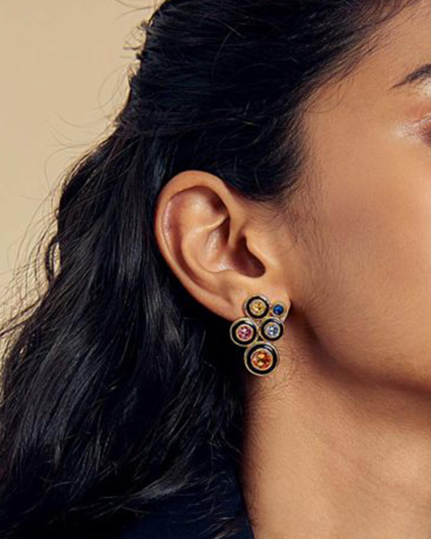 Glitter on the Go Swarovski Solar Stud Earrings