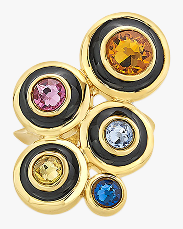 Isharya Glitter on the Go Solar Statement Ring 0