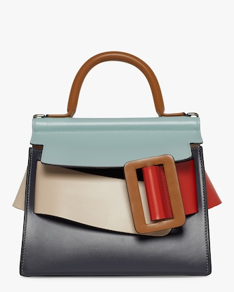 Karl 24 Color Block Handbag