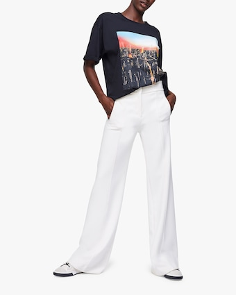 Sophisticated Perfection High-Waist Trousers