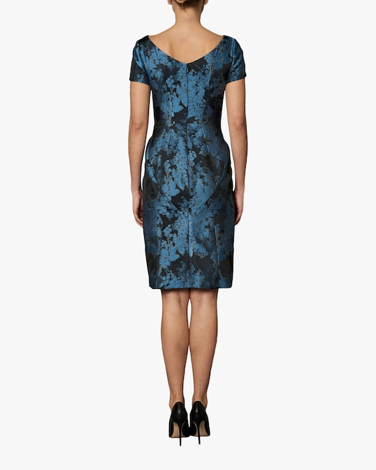 Zac Posen Short Sleeve Cocktail Dress 1