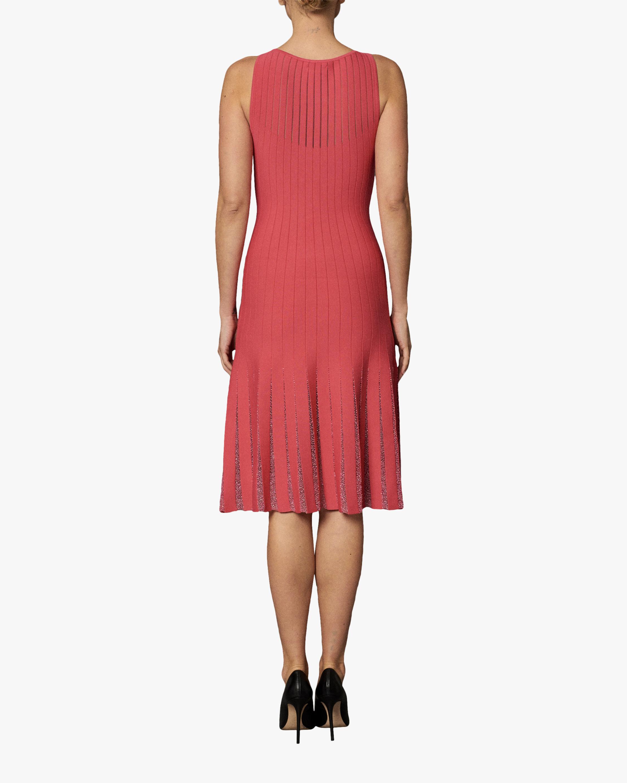 Zac Posen Beaded Detail Sleeveless Knit Dress 1