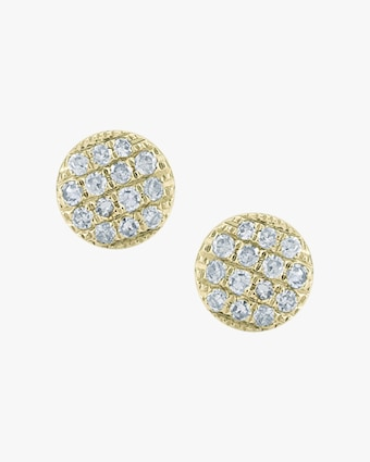 Lauren Joy Mini Disc Stud Earrings