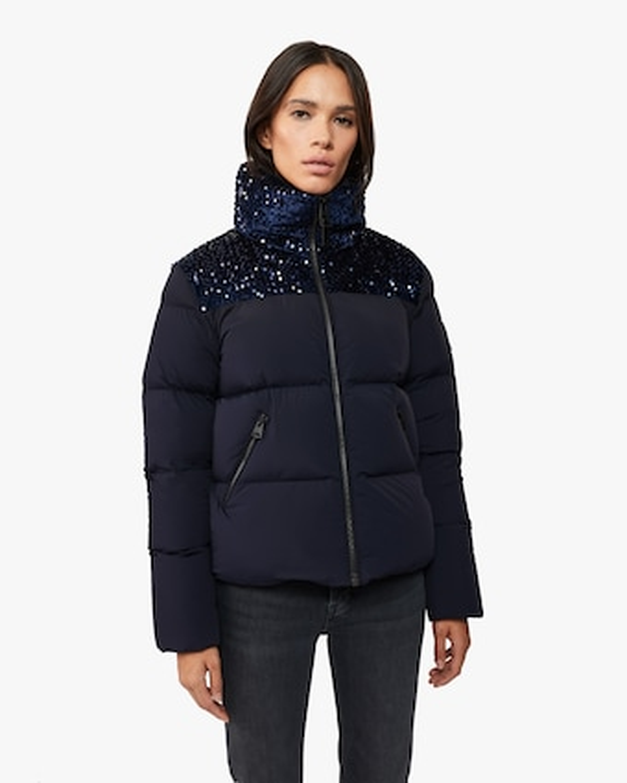 Tory Sequin Coat